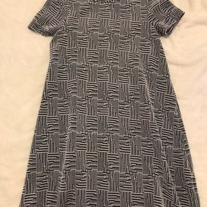 BLUE/GREY FLOW DRESS